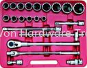 "KENNEDY 22PCE 3/4"" SQ DR SOCKET SET KEN5828720K (UPM0549) 22PCE 3/4"" SQ DR SOCKET SET Kennedy"