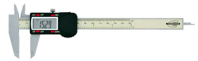 Standard gage - Electronic calipers - Electronic polycarbonate caliper Calipers Small Dimensional Gauging
