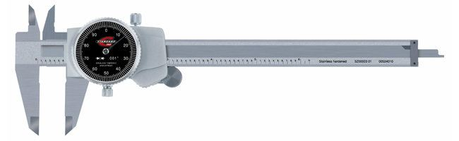 Standard gage - Dial calipers, inch Calipers Small Dimensional Gauging