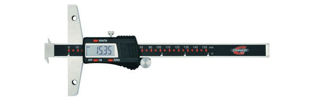 Standard gage - Depth calipers - Electronic depth calipers with hooks Calipers Small Dimensional Gauging