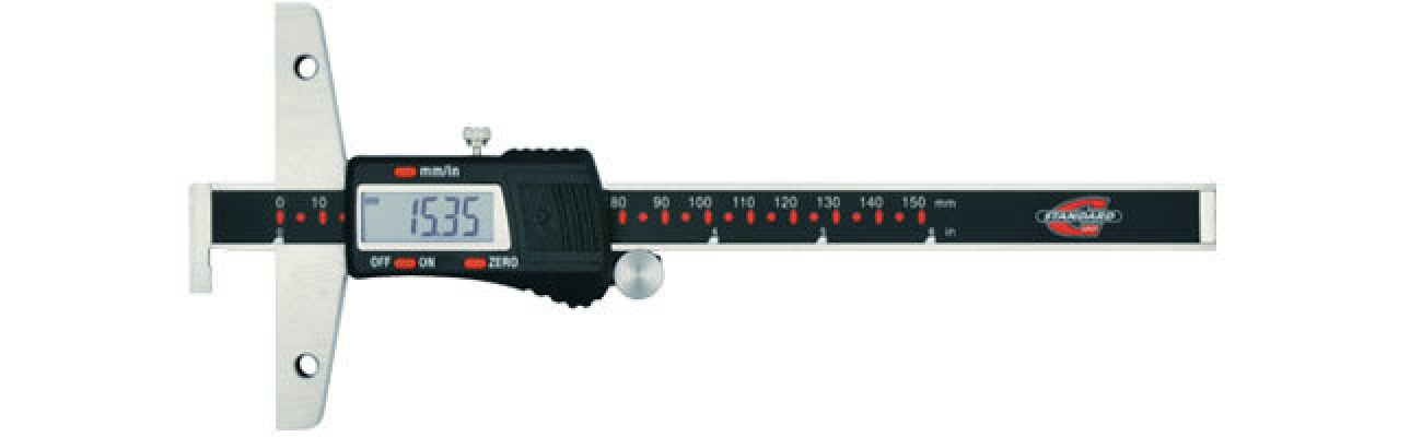 Standard gage - Depth calipers - Electronic depth calipers with hook