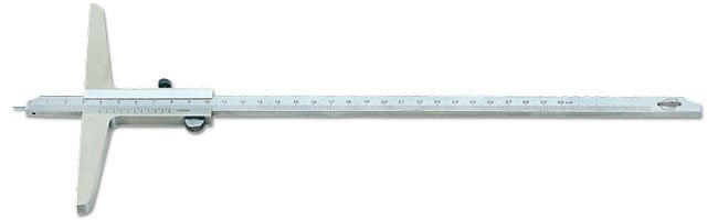 Standard gage - Depth calipers - with vernier and pin, metric Calipers Small Dimensional Gauging