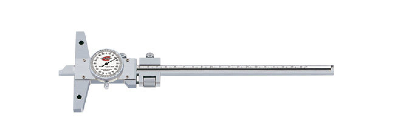 Standard gage - Depth calipers - with dial