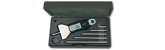 Standard gage - Depth calipers - Electronic depth gage Calipers Small Dimensional Gauging