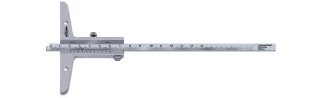 Standard gage - Depth calipers -  with vernier Calipers Small Dimensional Gauging