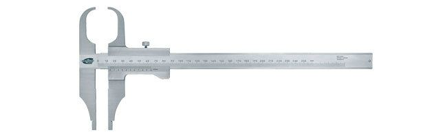 Standard gage - Vernier calipers - arched jaw Calipers Small Dimensional Gauging