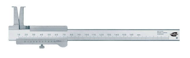 Standard gage - Vernier calipers - groove Calipers Small Dimensional Gauging