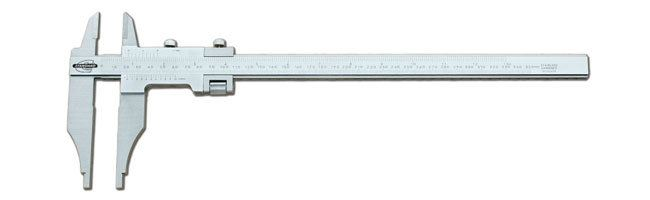 Standard gage - Vernier calipers - parallax-free, knife edge Calipers Small Dimensional Gauging
