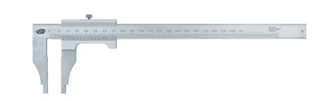 Standard gage - Vernier calipers - round edge Calipers Small Dimensional Gauging