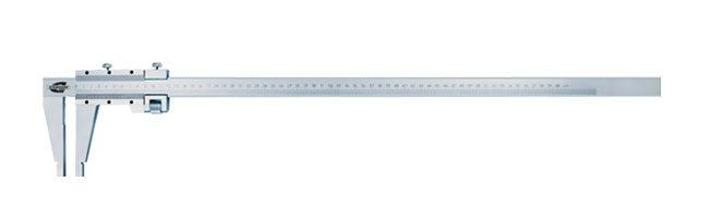 Standard gage - Vernier calipers -  carbon steel, round edge Calipers Small Dimensional Gauging