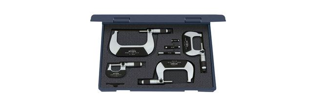 Standard gage - External micrometers - Micrometer sets, external Micrometers Small Dimensional Gauging