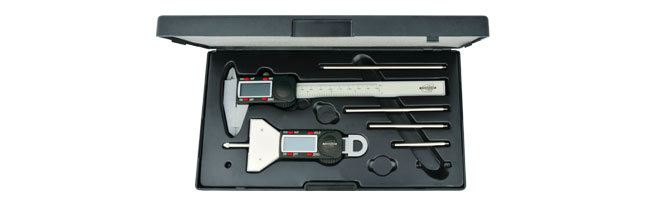 Standard gage - Tool set - polycarbonate, metric/inch Tools Sets Small Dimensional Gauging