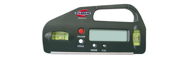 Standard gage - Pocket electronic inclinometer Levels Small Dimensional Gauging