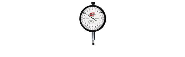 Standard gage - HP dial gauge with a 58 mm dial diameter, 0,001 mm Dial gauges Small Dimensional Gauging