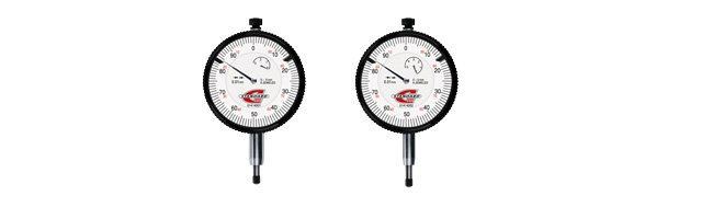 Standard gage - 40 mm dial gauge, reading 0,01 mm Dial gauges Small Dimensional Gauging