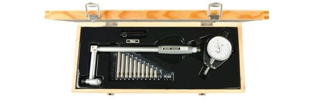 Standard gage - Dial bore gauge, metric, perpendicular Comparator gauges Small Dimensional Gauging