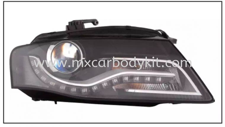 AUDI RS4 2008 HEAD LAMP PROJECTOR W/DRL HEAD LAMP ACCESSORIES AND AUTO PARTS