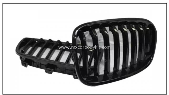 BMW 1 SERIES F20 FRONT GRILLE 2012 GLOSS BLACK