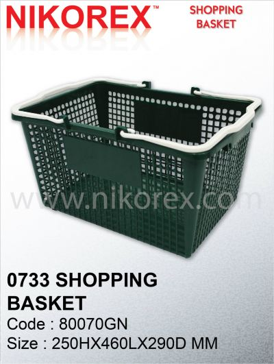 80070GN-0733 SHOPPING BASKET