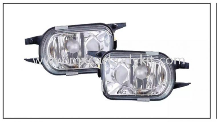 MERCEDES BENZ C-CLASS W203 2000' FOG LAMP CRYSTAL GLASS LENS FOG LAMP ACCESSORIES AND AUTO PARTS