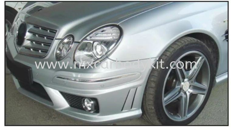 MERCEDES BENZ W211 2002-2009 E63 AMG BODYKIT W211 (E CLASS) MERCEDES BENZ