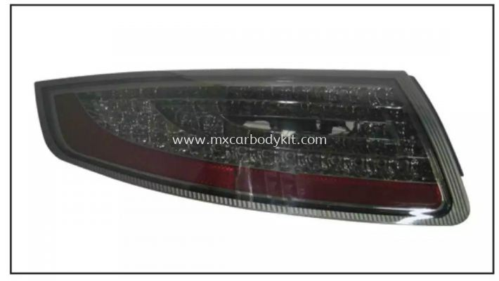 PORSCHE CARRERA 911/997 2004-2012 REAR LAMP CRYSTAL LED SMOKE