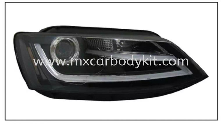 VOLKSWAGEN JETTA HEAD LAMP PROJECTOR W/LED HEAD LAMP ACCESSORIES AND AUTO PARTS