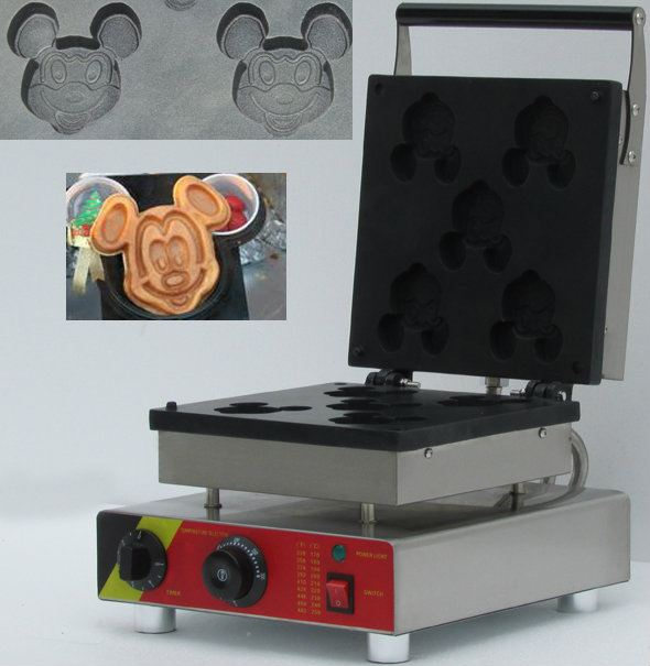 Waffle Mickey Mouse Maker Machine Waffle Machine Kuala Lumpur, KL, Malaysia Supply, Supplier, Suppliers | Fresco Cocoa Supply PLT
