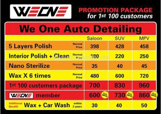 We One Auto Detailing