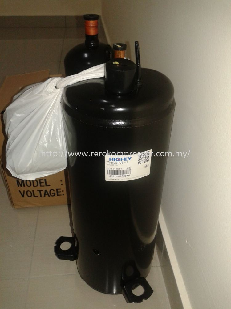 """Highly"" Air Conditioner Compressor Model:  THK33PC6-U"
