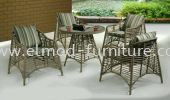 T-6096 Outdoor Table-2 Outdoor Sets