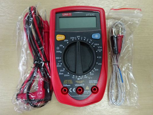 UNI-T UT33C PALM SIZE DIGITAL MULTIMETERS
