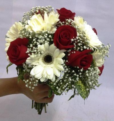 Rose & Daisy Bridal Bouquet (BB-175)