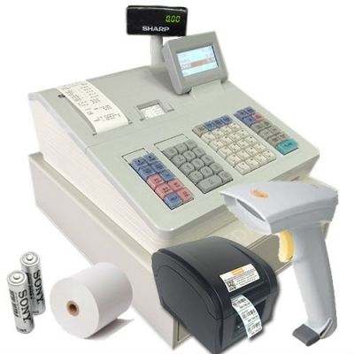 [Professional Plus] SHARP XEA 307 CASHIER WITH BARCODE SCANNER & PRINTER