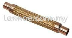 PACKLESS VIBRATION HOSE - BRASS