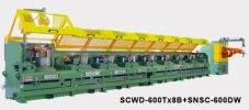SCWD-600Tx8B+SNSC-600DW Multi block coiling machine Wire Drawing Machinery