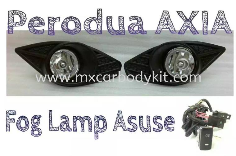 PERODUA AXIA FOG LAMP  FOG LAMP ACCESSORIES AND AUTO PARTS