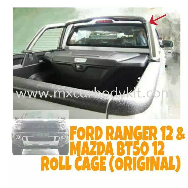 FORD RANGER 2012 ROLL CAGE (ORIGINAL) FORD RANGER 4 X 4