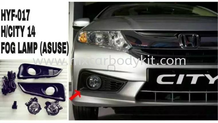 HONDA CITY 2014 FOG LAMP (ASUSE) FOG LAMP ACCESSORIES AND AUTO PARTS