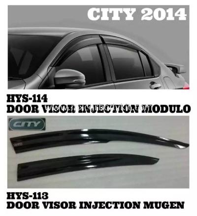 HONDA CITY 2014 DOOR VISOR
