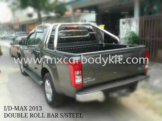 ISUZU DMAX 2013 DOUBLE ROLL BAR S/STEEL ISUZU DMAX 4 X 4