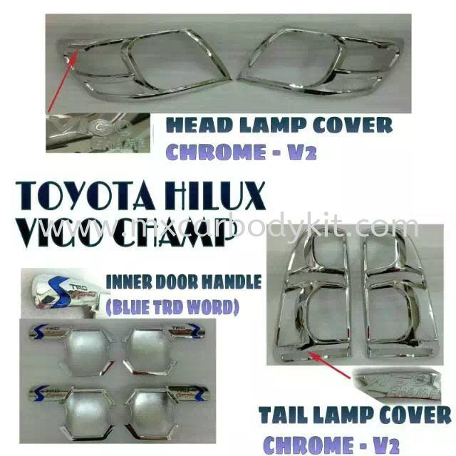 TOYOTA HILUX VIGO CHAMP CAR ACCESSORIES & PARTS  TOYOTA HILUX 4 X 4
