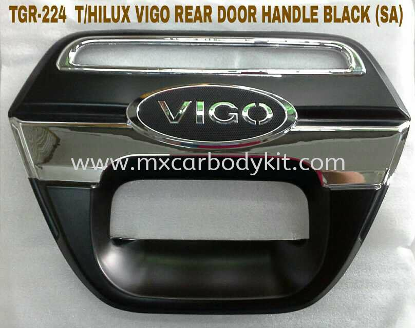 TOYOTA HILUX VIGO REAR DOOR HANDLE BLACK TOYOTA HILUX 4 X 4 Johor, Malaysia, Johor Bahru (JB), Masai. Supplier, Suppliers, Supply, Supplies | MX Car Body Kit