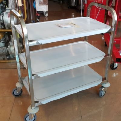 S. Steel Service Trolley 850��450��899mm ID997979