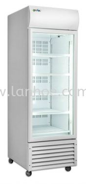 Upright Display 1 Door Chiller