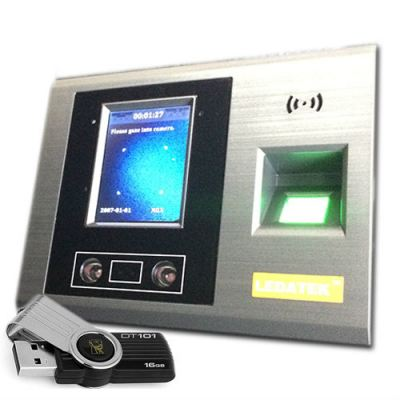 [Premium] LEDATEK EU-900i Face Scan No Software Time Recorder