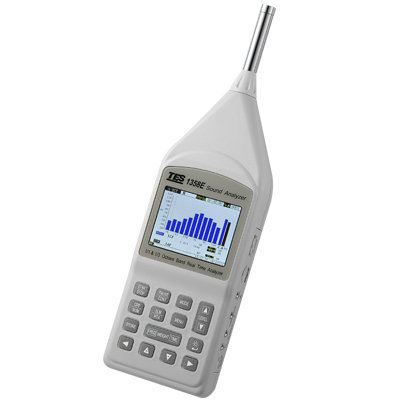 Sound Analyzer TES-1358E Sound Level Meters Climatic / Environment Inspection