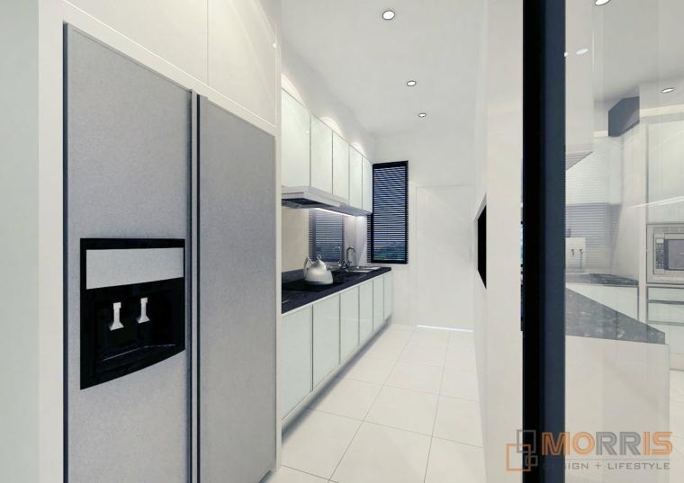 Kitchen Area Design Impian Emas WET KITCHEN KITCHEN DESIGN