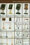 Q pole /Welcome Sign /Gold plated or brass  Metal Products Hotel Equipment