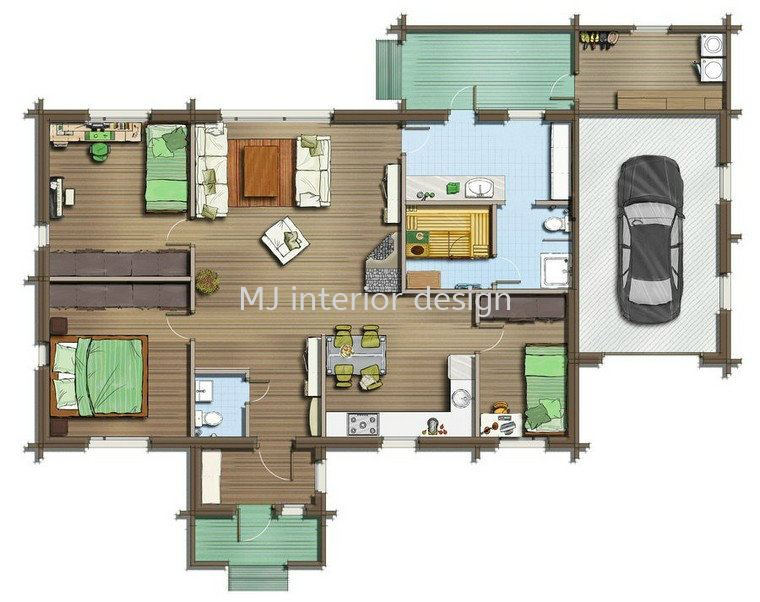 2D drawing-layout plan and etc Interior Design and Consultation Penang, Gelugor, Malaysia Service, Design, Renovation | MJ Interior Design & Renovation